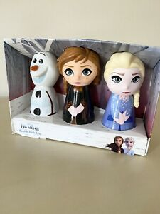 Marks & Spencers Frozen Bubble Bath Trio Gift Set NEW - Christmas 🎄