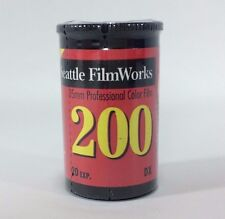 35 mm Professional Color Film 200 ASA 20 exposures Seattle Film Works NOS