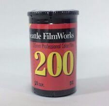 35 mm Professional Color Film 200 ASA 20 exposures Seattle Film Works NOS