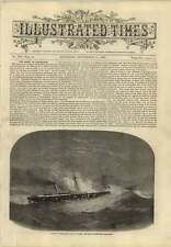 1869 Alarming Petrol Fire On Board The Lady Wodehouse Steamship