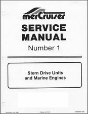 63-73 MerCruiser #1 Stern Drive Units and Marine Engines Service Manual CD