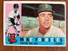 1960 Topps Baseball Card #54 Mike Fornieles Boston Red Sox EX