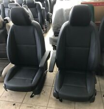 2016 2018 Mercedes-Benz Metris Van Black Leatherette Front Bucket Seats Sprinter