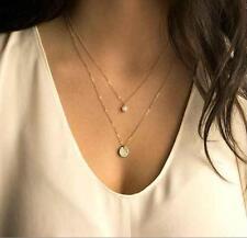 Fashion New Charm Jewelry Choker Chunky Statement Bib Pendant Chain Necklace