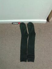 "1 Pair  Black Socks Heat-Resistant Carbon  21""  NEW"