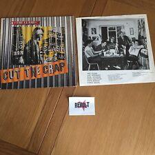 The Clash Cut The Crap 1985 12 Vinyl Album VG
