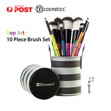 [AUTHENTIC] BH Cosmetics - Pop Art - 10 Piece Brush Set
