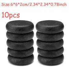 10 Pcs Set Hot Basalt Rocks Stone Massage Body Therapy Pain Relief 6x6x2cm