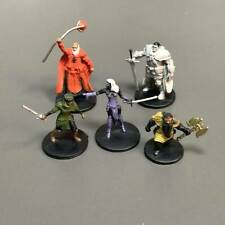5x Baldur's Gate Miniature Dungeons & Dragons D&D Board Game Role Playing Figure