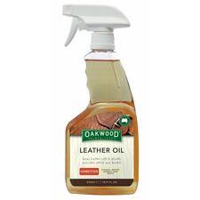 Oakwood Leather Oil 500ml Soften Restore Nourish Saddlery Saddles BOOTS Bags