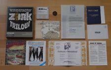 Trilogía de Zork - aventuras de texto de Infocom en caja original