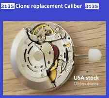 New ! Watch Movement Automatic CLONE Replacement  cal 3135 Frequency 28800