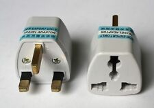 Travel AC Power Plug Adapter Socket Converter US EU AU EURO USA Universal to UK