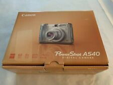 Canon PowerShot A540 4X Zoom, 6.0MP Digital Camera with 512 MB card! Silver