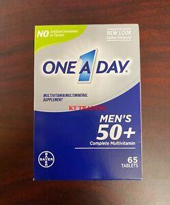 One A Day Men's 50+ Complete Multivitamin Immune Heart Brain Health ~ 65ct 03/22