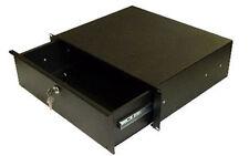 Rack Mount drawer - 3u in Black