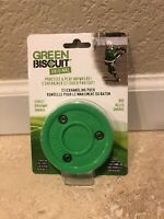 Green Biscuit Original Hockey Passing Training Puck - NEW **FREE Shipping