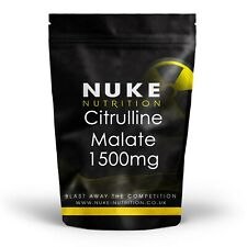 L Citrulline Malate 1500mg Capsules Pre Workout Erectile Dysfunction Pills x 120