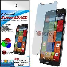 3 Film For Motorola MOTO X 2 2ND Gen G2 Protector Save Screen Dislay 2014