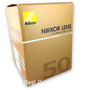 New Nikon AF-S NIKKOR 50mm f/1.8G Special Edition Lens w/Hood and Case  FX DX
