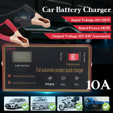 Maintenance-free Battery Charger 12V/24V 10A 140W Output For Electric Car TW