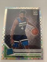 💥 2019-20 Optic Jaylen Nowell Checkerboard Rated Rookie Holo Prizm SSP💥