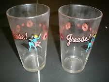 Set of 2 heavy glasses Grease Musical