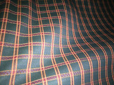 1 meter OF lovely  QUALITY Tartan Upholstery Fabric .