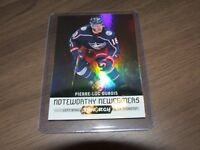 2017-18  Upper Deck Synergy Noteworthy Newcomers #NN-5 PIERRE LUC DUBOIS