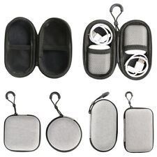 Resuable Earphone Holder Case Hard Box Headphone Earbuds USB Cable Storage Bag