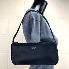 VINTAGE KATE SPADE Classic Pia Black Nylon Shoulder Bag