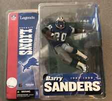 McFarlane Toys NFL Football Legends Series 1 Barry Sanders Lions Figure MIB New