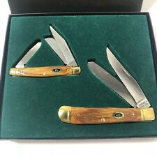 Ducks Unlimited 2pc Schrade Knife Collector Set 2003 USA