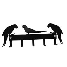 Parrot Key Hooks Holder  Macaw African Grey Parrots
