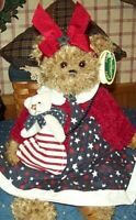 "BETSY & ROSS Bearington Bear 14"" $29.99 New 2002 Collectible Series w/tags ltd"