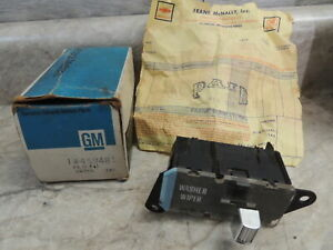 1978 79 81 82 83 Chevy Pick Up Truck C/K 1 2 3 Windshield Wiper Switch 459481