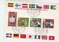 Germany 1963 Hanover Fair  special postmark stamps card R21094