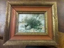 Original Painting Max Karp Enamel on Copper Signed
