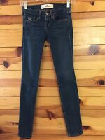 *HOLLISTER* Women's Juniors SO CAL STRETCH Cropped Jeans EUC Size 1  W25