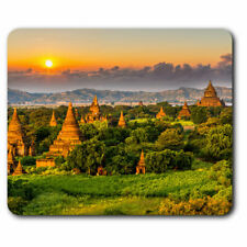 Computer Mouse Mat - Temples Bagan Myanmar Burma Office Gift #3528