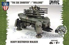 Polvere TATTICA modello-I SEI TIRATORE Bulldog-pesanti Destroyer-dt076-NUOVO