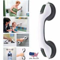 Safety Bath Shower Grip Handle Suction Cup Grab Bar Bathroom Toilet Tub Rail