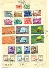 NNG- NEW GUINEA-IRIAN BARAT- 1962-5-1 (FDC )-- 26 ST. USED = SORONG = ON SHEET