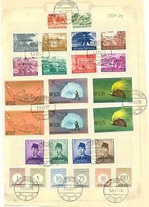 NNG- NEW GUINEA-IRIAN BARAT- 1962-5-1 (FDC )-- 26 ST. USED = SORONG = ON SHEET