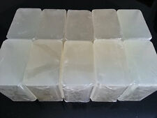 10 lb EXTRA HARD CLEAR Melt And Pour Soap All Natural Wholesale Bulk NO SWEAT