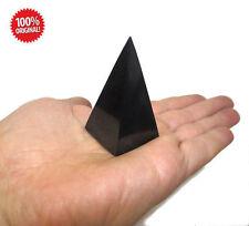 Shungite schungit High pyramid polished 30mm elite crystal minerals labradorite