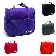 Storage Bags Classic Toiletry Hanging Wash Organizer Travel Cosmetic Case Pouch