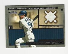 Ichiro Suzuki 2002 Fleer Showcase Baseball's Best Game Used Jersey Card Mariners