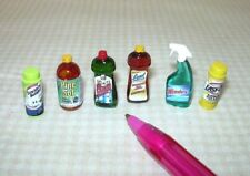 Miniature Cleaning Assortment (6) for the DOLLHOUSE Miniatures 1:12 Scale