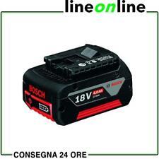 Bosch Batteria GBA 18V 4,0Ah - 1.600.Z00.038 intercambiabile professionale